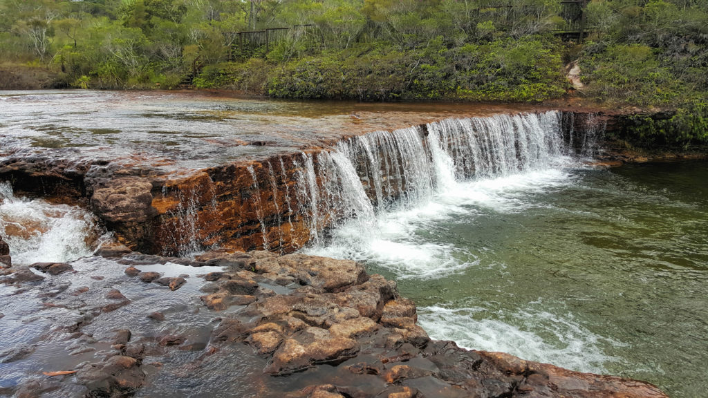 Torres and cape fruit bat falls is in the remote area of north queensland north of cairns