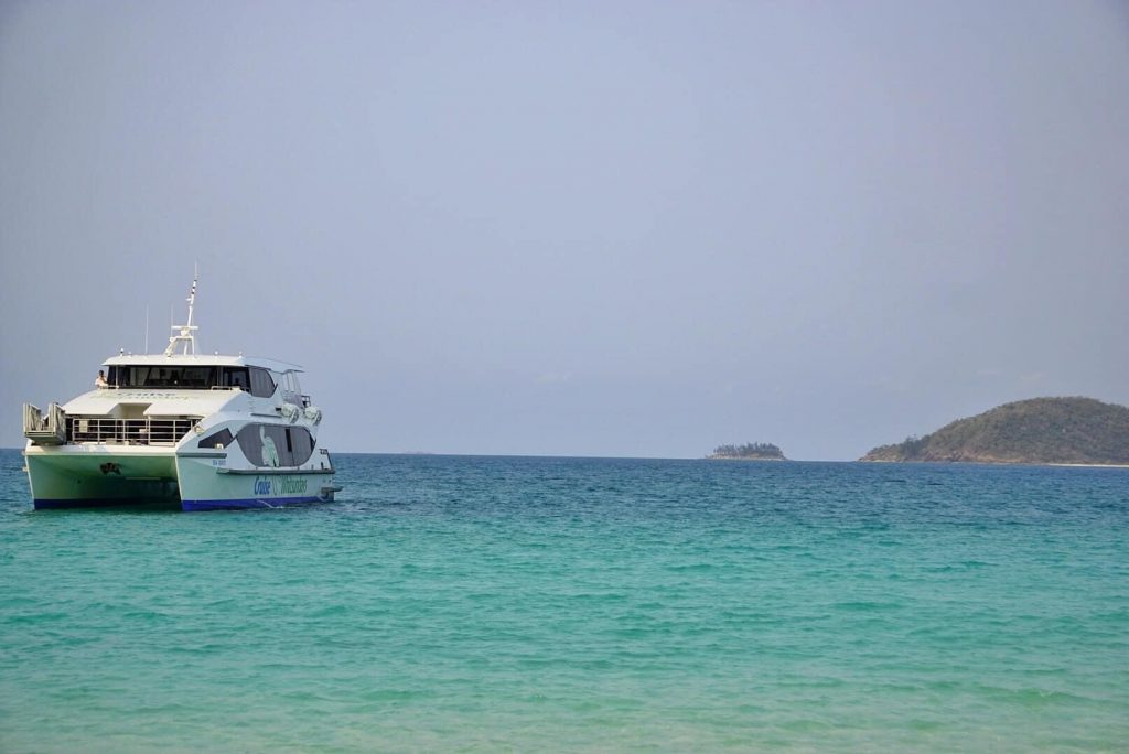 Become a travel nurse Whitsundays ocean boat