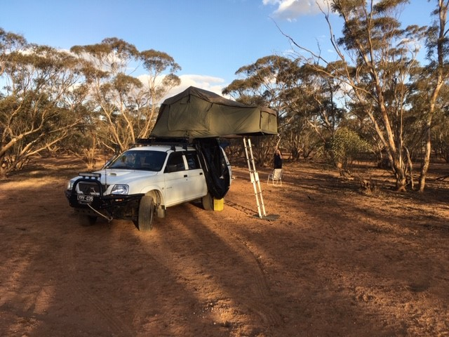 affinity nurses spending time in isolation camping in isolation offroad