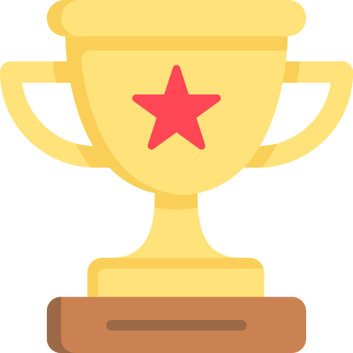 Agency fit icon - trophy