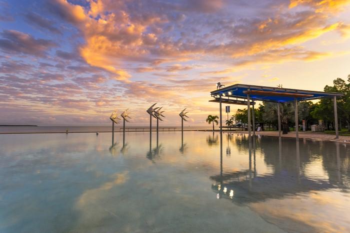 Cairns Queensland eat like a local header image sunset